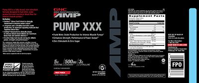 AMP Pump X-X-X