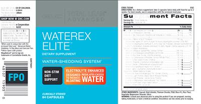 GNC Total Lean Advanced Waterex Elite