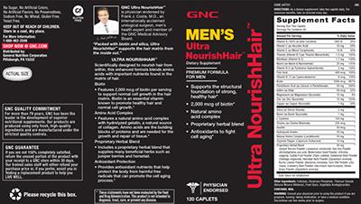 GNC Ultra NourishHair