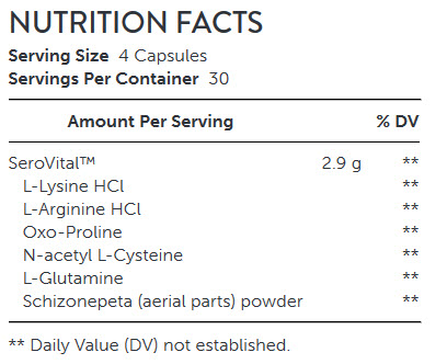 NUTRITION FACTS Growth Factor-9