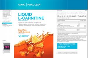 Liquid L-Carnitine - Iced Tea with Lemon
