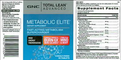 Total Lean Advanced Metabolic Elite